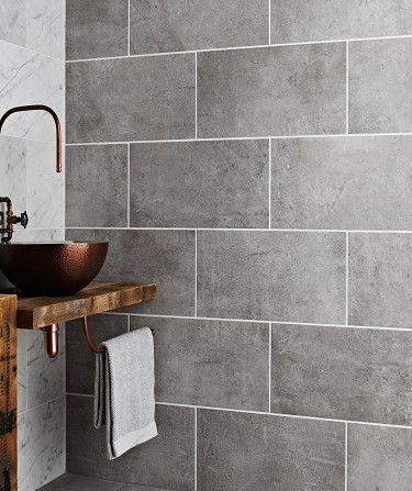 Tekno Modern Bathroom Tile Grey Tiles Bathroom Wall Tile
