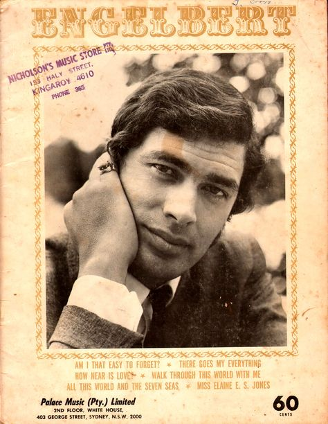 Engelbert 1968 A Collection Of 5 Songs From The 1960 S