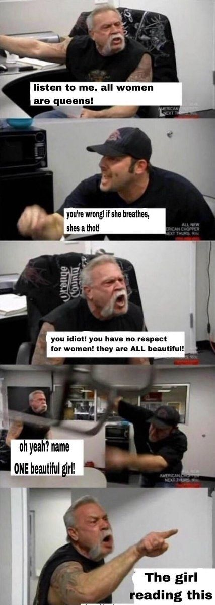 There Is No Debate The American Chopper Argument Meme Is Undeniably Funny Funny Pictures Funny Hilarious