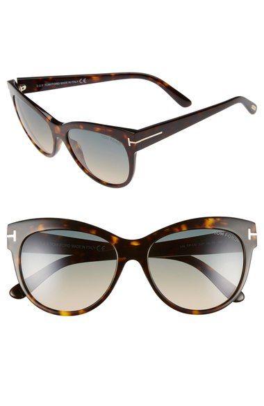 e1f5b9525348 Tom Ford - Anouk-02 Black - Blue-sunglasses-Designer Eyes