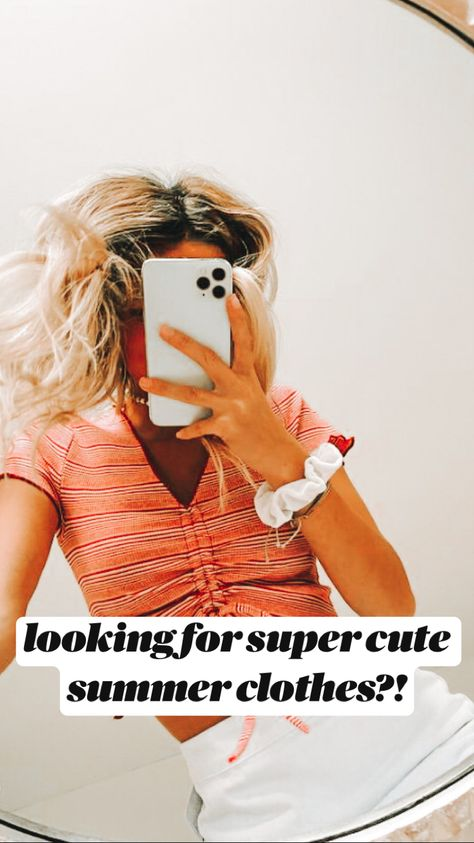 looking for super cute summer clothes?!
