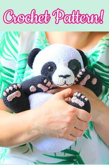 Cute Crochet Panda Free Patterns   572x381