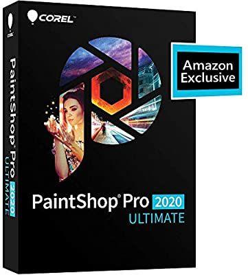 Amazon Com Corel Paintshop Pro 2020 Ultimate Photo Editing Graphic Design Amazon Exclusive Includes Free Particle Photo Editing Graphic Design Graphic