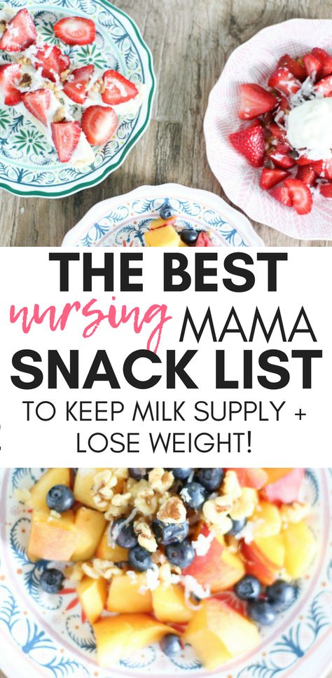 The Nursing Mama Snack List: My Favorite Healthy Snacks for Breastfeeding - Pre. - The Nursing Mama Snack List: My Favorite Healthy Snacks for Breastfeeding – Pregnancy – - Snacks List, Healthy Snacks, Healthy Recipes, Baby Snacks, Breastfeeding Snacks, Breastfeeding Smoothie, Lactation Recipes, Lactation Foods, Lactation Smoothie