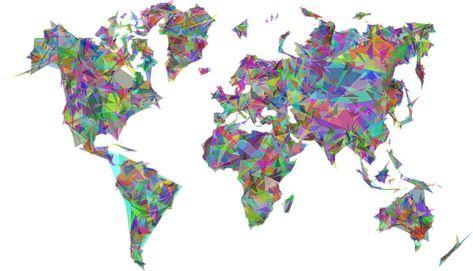 carte du monde 2020 mappemonde, carte du monde, géographique, map en 2020 | Carte du