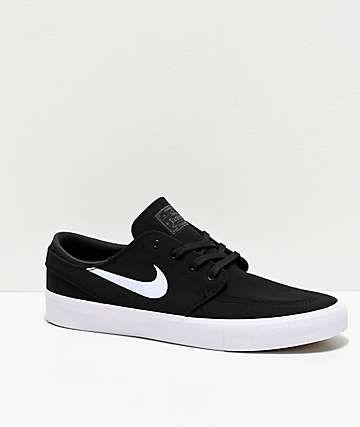 Nike SB Janoski RM Black \u0026 White Canvas