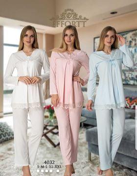 Conjunto De Pijama Esfuerzo 4032 Lohusa Pijama Nedime Giysileri Giyim