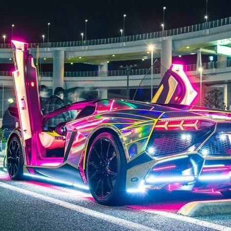 Exotic Sports Cars, Cool Sports Cars, Luxury Sports Cars, Sport Cars, Cool Cars, Carros Lamborghini, Lamborghini Cars, Tokyo Drift Cars, Street Racing Cars