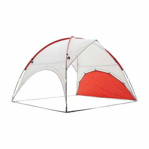 Kathmandu Retreat Large UPF50+ Summer C&ing Sun Shelter Canopy v2 Red Grey  sc 1 st  Pinterest & Kathmandu Retreat Large Upf50 Summer Camping Sun Shelter Canopy V2 ...