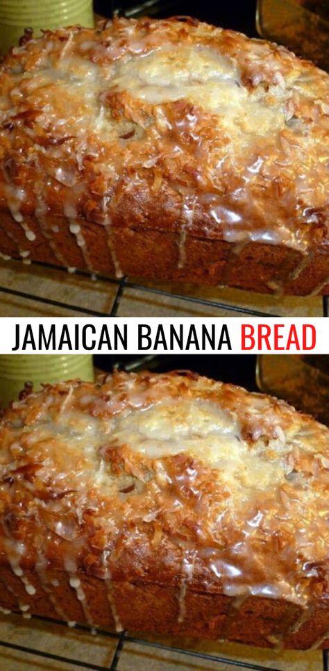 Jamaican Desserts, Jamaican Recipes, Banana Bread Recipes, Cake Recipes, Dessert Recipes, Jamaica Banana Bread Recipe, Banana Bread Cookies, Homemade Banana Bread, Recipe For Bread