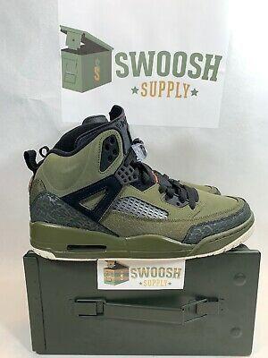 Nike Air Jordan Spizike Flight Jacket Olive Canvas Black 315371-300 Men/'s NEW