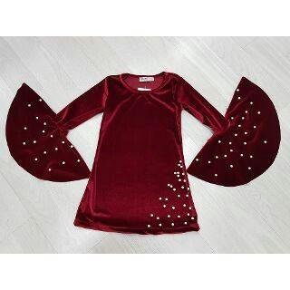 5 Yas Ve Uzeri Kiz Cocuk Kadife Elbise Elbise Modelleri Cocuk Giyim Kiyafet