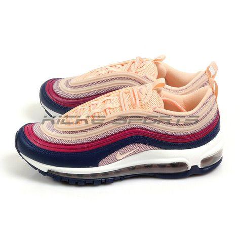 Nike W Air Max 97 Plum Chalk Crimson Tint Classic Running