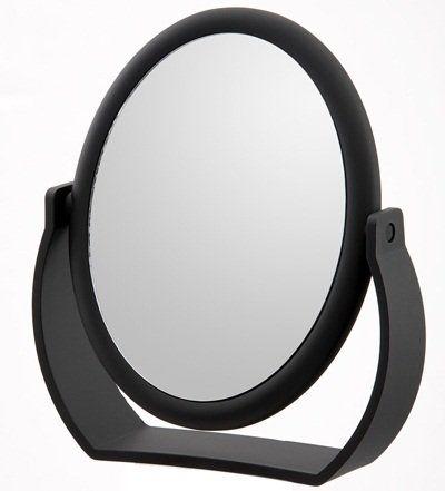 Danielle Midnight Matte Oval Vanity Mirror Mirror Vanity Mirror Mirror Table