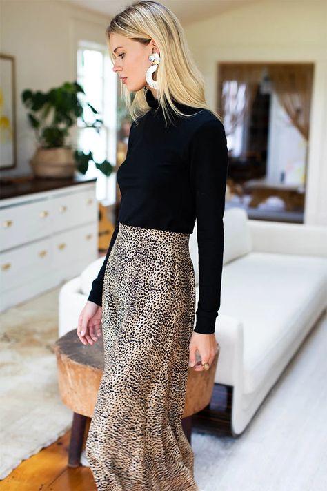Midi Skirt 2 - Little Cheetah
