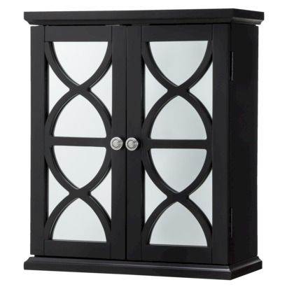 Delicieux Lattice Bathroom Wall Cabinet   Black | House | Pinterest | Bathroom Wall  Cabinets, Walls And Medicine Cabinets
