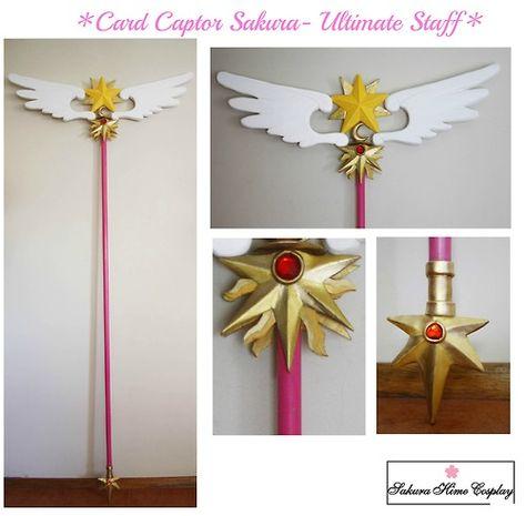 Card Captor Sakura Ultimate Staff, I hope you like it! ^^Follow my work at: https://www.facebook.com/SakuraHimeCosplay