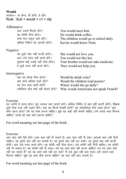 English Speaking and Grammar through Hindi (Niranjan Jha