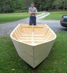 Bayou Skiff - wooden boat plans | лодки | Pinterest | Wooden boat ...