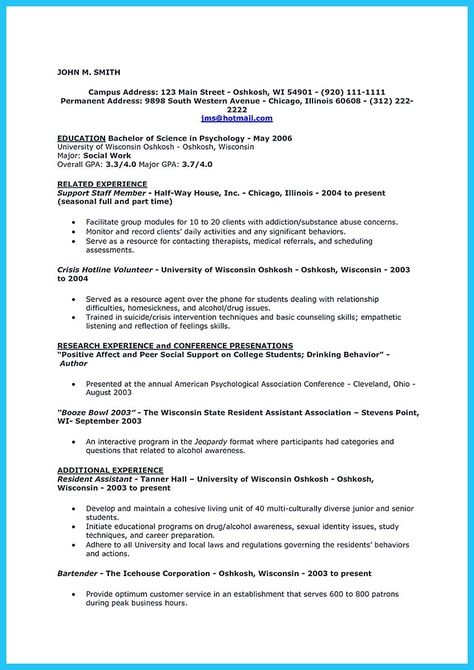 nice Excellent Ways to Make Great Bartender Resume Template, Check - free bartender resume templates
