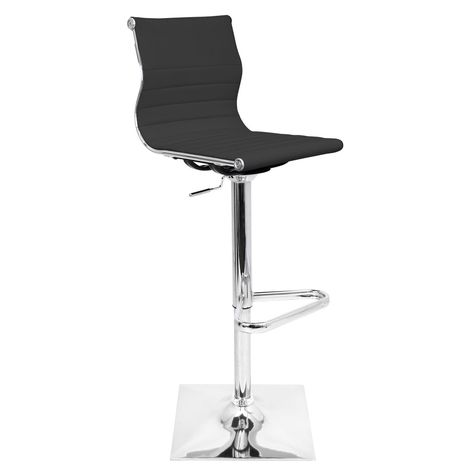LumiSource Modern Master Barstool #design #homedesign #modern #modernfurniture #design4u #interiordesign #interiordesigner #furniture #furnituredesign #minimalism #minimal #minimalfurniture