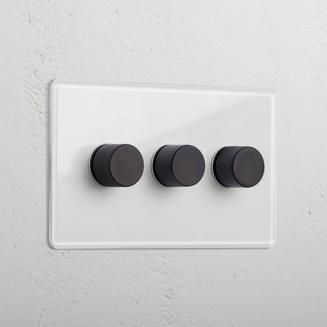 3g Dimmer Switch Clear Bronze In 2020 Led Dimmer Bronze