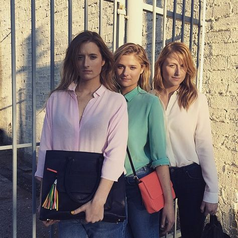 Meryl Streep's daughters (left to right) Grace Gummer, Louisa Gummer, Mamie Gummer