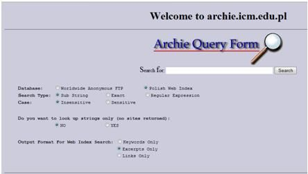 September 10, 1990 The first Internet search engine, Archie