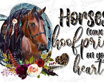 Graphic Cowboy Horse Succulent Instant Digital Download PNG Clip Art Design