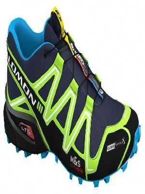 salomon speedcross 3 cs lake fluo green bl