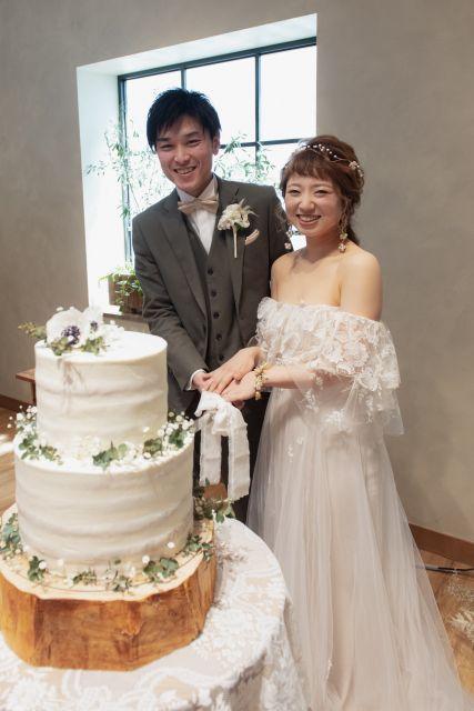 らしさ が詰まったナチュラルなwedding Party さっぺさんの挙式 披露宴ハナレポ ウエディングパーク 2020 花嫁 挙式 ウェディングケーキ