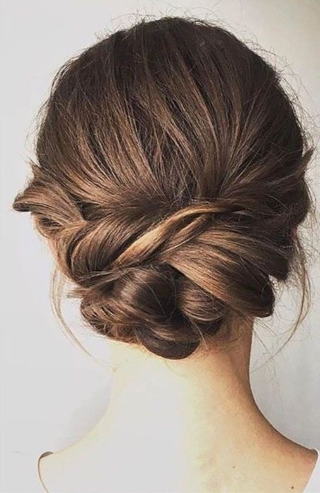 20 Stunning Updos For Short Hair Short Hair Updo Hair Styles Simple Bridesmaid Hair