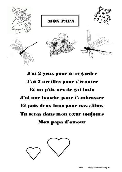 Mon Papa Poesie Papa Poesie Fete Des Peres Et Bonne Fetes