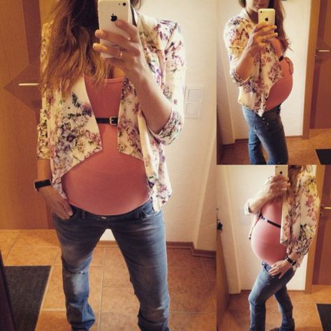 Schwangerschaftsmode - Outfit 9ter Monat // pregnancystyle week 36