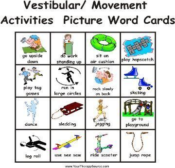 Make Chris Visual Sensory Activity Cards Have Some Ready For Car
