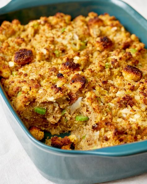 Cornbread dressing is a Thanksgiving classic. We're sharing this easy, traditional family recipe that's as Southern as it gets. You'll only want homemade cornbread dressing after you taste this.