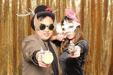 Photo From Holiday Party Eastwest Bank Santa Anita Race Track Arcadia Collection By Powers Photo Booth With Images Open Air Photo Booth
