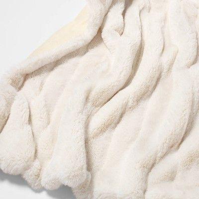 Texture Faux Fur Throw Blanket Cream Project 62 Faux Fur Throw Blanket Cream Throw Blanket Faux Fur Throw Blanket Grey