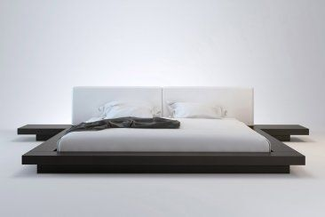 Worth Platform Bed Modern Platform Bed Modern Bed Japanese Platform Bed