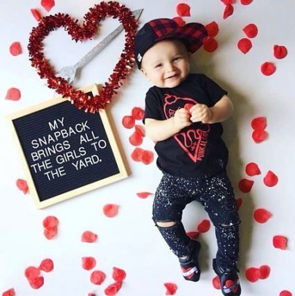 Newborn Photography Baby S First Valentine Photography Ideas Photography Magazine Leading Photography Magazine Bring You The Best Photography From Around First Valentines Day Baby One Month Baby Valentines Baby Photos