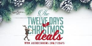 Win A 25 Gift Card From Aberdeen News This Christmas Sweepstakes Den Https Sweepstakesden Com Win A 25 Gif With Images Christmas Sweepstakes Twelve Days Of Christmas