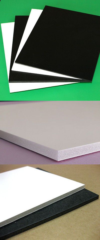3mm 1 8 Sintra Pvc Foam Board Plastic Sheets You Pick Size Color Ebay Plastic Sheets Foam Board Foam