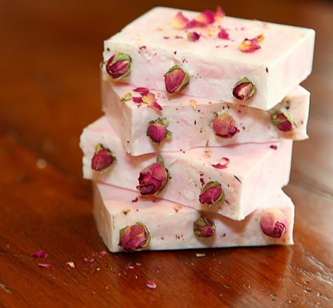 Organic Rose and Shea Butter...Soap Tutorial ~ If you've ever wondered how to make your own #soap, you'll find answers in this interesting #tutorial from @latherandlotion