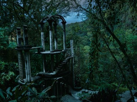 Las Pozas, Mexico Photograph by Diane Cook and Len Jenshel, National Geographic