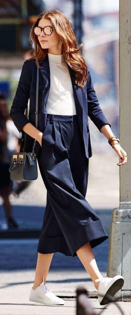Pantaloni Culotte: outfit da copiare (Foto 2040
