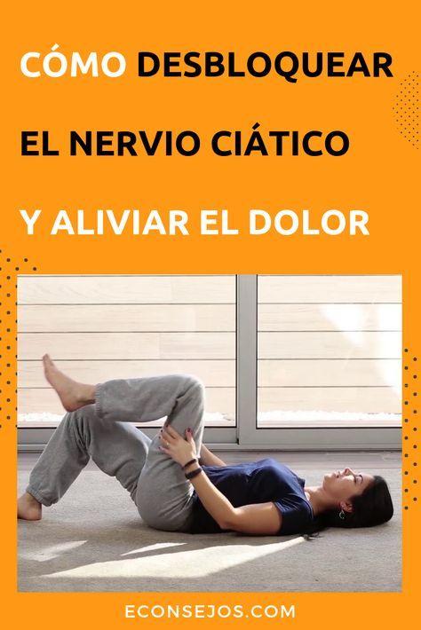 Cómo tratar una inflamación del nervio ciático