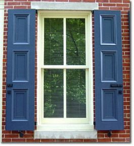 Exterior Shutters :: The Philadelphia Shutter Company | A Few Of My  Favorite Things | Pinterest | Wood Shutters, Shutters And Exterior Wood  Shutters