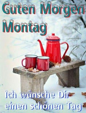 guten morgen montag winter
