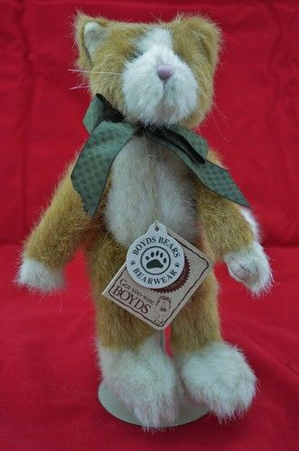 Brand: The Original Boyd's Bears  Item: Golda Meow          J.B. Bean & Associates  8