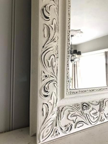 Bedroompaint Distressed Mirror Distressed Mirror Frame Painting Mirror Frames